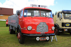 Rare Finnish Wilke Vintage Truck stock photo