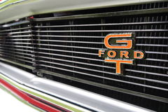 Rare Ford Falcon GT Badge and Grill Stock Images
