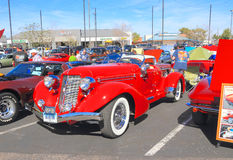 Rare Historic Car: 1936 Auburn Speedster. Check out my lightbox Classic and Antique Cars Stock Photo