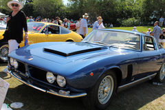 Rare Italian sportscar Stock Image