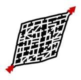 Rare maze Stock Photo
