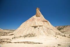 Rare mountain at the desert Royalty Free Stock Photo