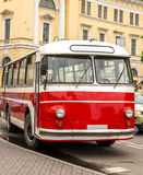 Rare Old Public Transport Vehicles Royalty Free Stock Photography