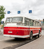Rare Old Public Transport Vehicles Royalty Free Stock Photos