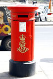 Rare Post box, Sliema, Malta. Royalty Free Stock Photo