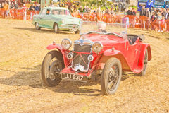 A rare Riley  Sports car on show at Roseisle. Royalty Free Stock Photography
