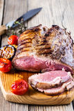Rare roast beef Royalty Free Stock Photography