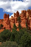 Rare rock formations of Bryce Canyon Stock Photography