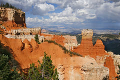 Rare rock formations of Bryce Canyon Royalty Free Stock Photo