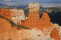 Rare rock formations of Bryce Canyon Royalty Free Stock Image