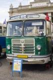 Rare Soviet Russian bus 60's Royalty Free Stock Photo