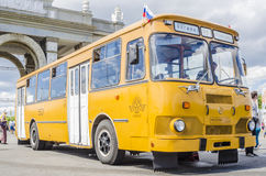Rare Soviet Russian bus 60's Stock Image