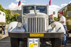 Rare Soviet Russian Cargo truck brand GAZ Royalty Free Stock Images