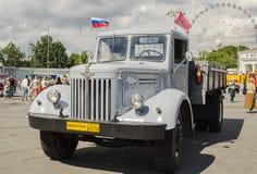 Rare Soviet Russian Cargo truck brand GAZ Stock Image
