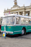 Rare Soviet Russian trolleybus 60's Stock Photos