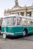 Rare Soviet Russian trolleybus 60's Stock Photos
