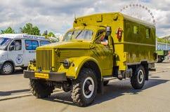 Rare Soviet Russian War truck brand GAZ Royalty Free Stock Image