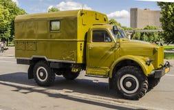 Rare Soviet Russian War truck brand GAZ Stock Image