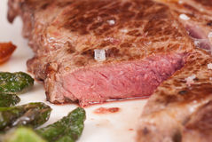 Rare steak Royalty Free Stock Photography