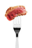 Rare steak piece Royalty Free Stock Image