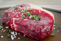 Rare steak Royalty Free Stock Image