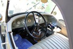 Rare thirties car interior Royalty Free Stock Photos