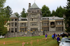 Rare tour through Yaddo Garden mansion,September,2014 Royalty Free Stock Image