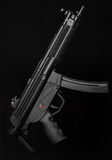 Rare version of MP5 tactical weapon Stock Image