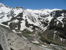Rare view of  Himalayas. Stock Photos