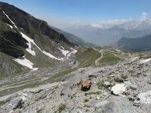 Rare view of  Himalayas. Stock Images