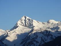 Rare view of  Himalayas. Royalty Free Stock Photography