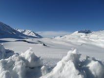 Rare view of  Himalayas. Royalty Free Stock Image