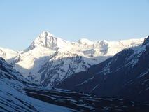 Rare view of  Himalayas. Royalty Free Stock Photo
