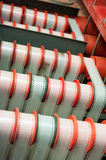 Rare vintage industrial cinema movie film development machine Royalty Free Stock Photo