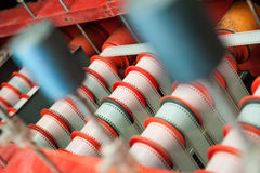 Rare vintage industrial cinema movie film development machine Royalty Free Stock Photos