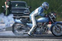 Raring to go. Taken at elliot lake drag races Stock Image