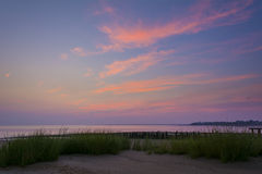 Raritan Bay Dawn Stock Photo