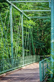 Raritan-Greenway-Brücke Lizenzfreies Stockfoto