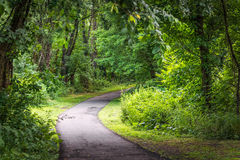 Raritan Greenway Royalty Free Stock Image