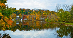 Raritan River Panorama Stock Photos