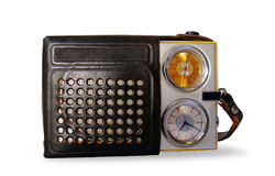 Rarity radio signal - isolated object. On a white background Stock Image