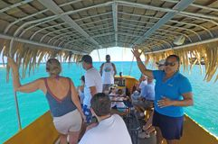 Raro Reef SubMarine Life Eco Tours in Avarua Rarotonga Cook Isl Stock Photography