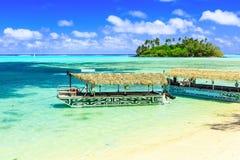 Rarotonga, îles Cook Photographie stock