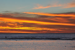 Rarotonga, Cook Islands Sunset Royalty Free Stock Photo