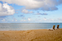 Rarotonga, cuoco Islands Beach Fotografie Stock