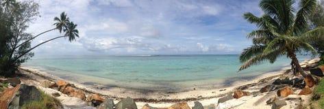 Rarotonga kock Islands, panorama Royaltyfri Bild