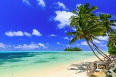 Rarotonga, Kucbarskie wyspy Fotografia Royalty Free