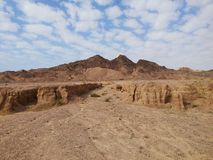 Ras穆罕默德手段,西奈,埃及山  免版税库存图片