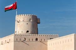 Ras Al Hadd堡垒 免版税库存图片