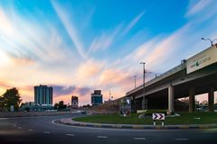 Ras Al Khaimah, Arabische Emirate - 27. November 2018: Ras Al stockfotos